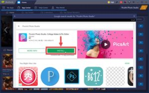 picsart apk for pc