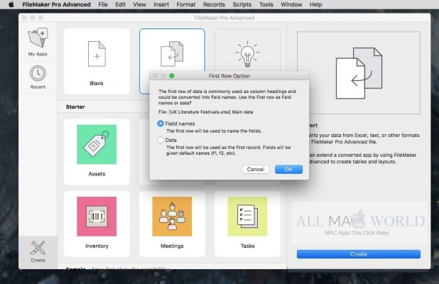 Get a free trial of FileMaker Pro 18 Advanced
