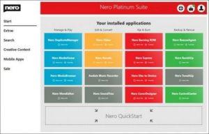 Nero Platinum Download (2020 Latest) for Windows 10, 8, 7