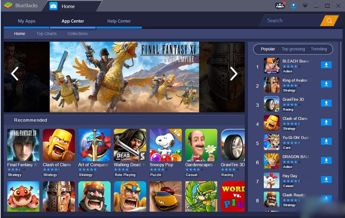 BlueStacks App Player 4.190.0.5002 Download for Windows