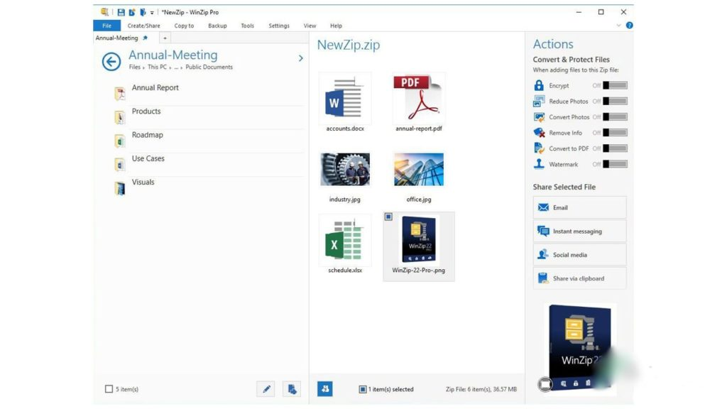 Free Download WinZip Pro 24 for Windows PC