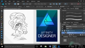 Free Download Serif Affinity Designer 1.8 full version standalone offline installer for Windows