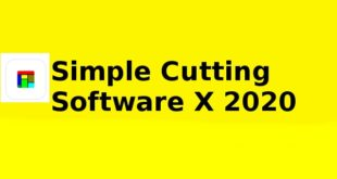 Simple Cutting Software X 2020 Free Download