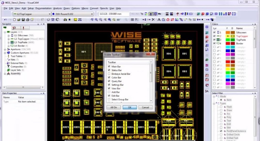 WISE VisualCAM 16.9.69 Free Download