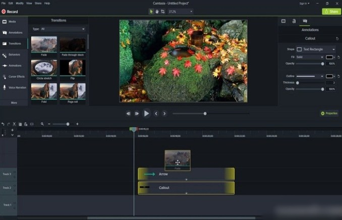 Camtasia 2019.0.10 Free Download for Windows.