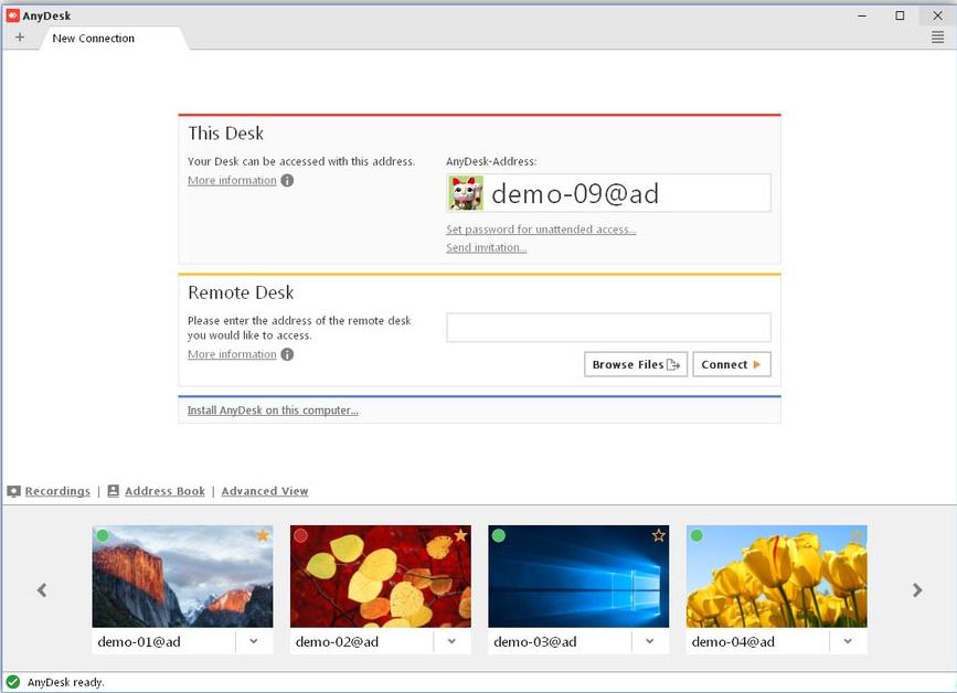 Free Download AnyDesk 5.5.3 Full Version - Offline Installer