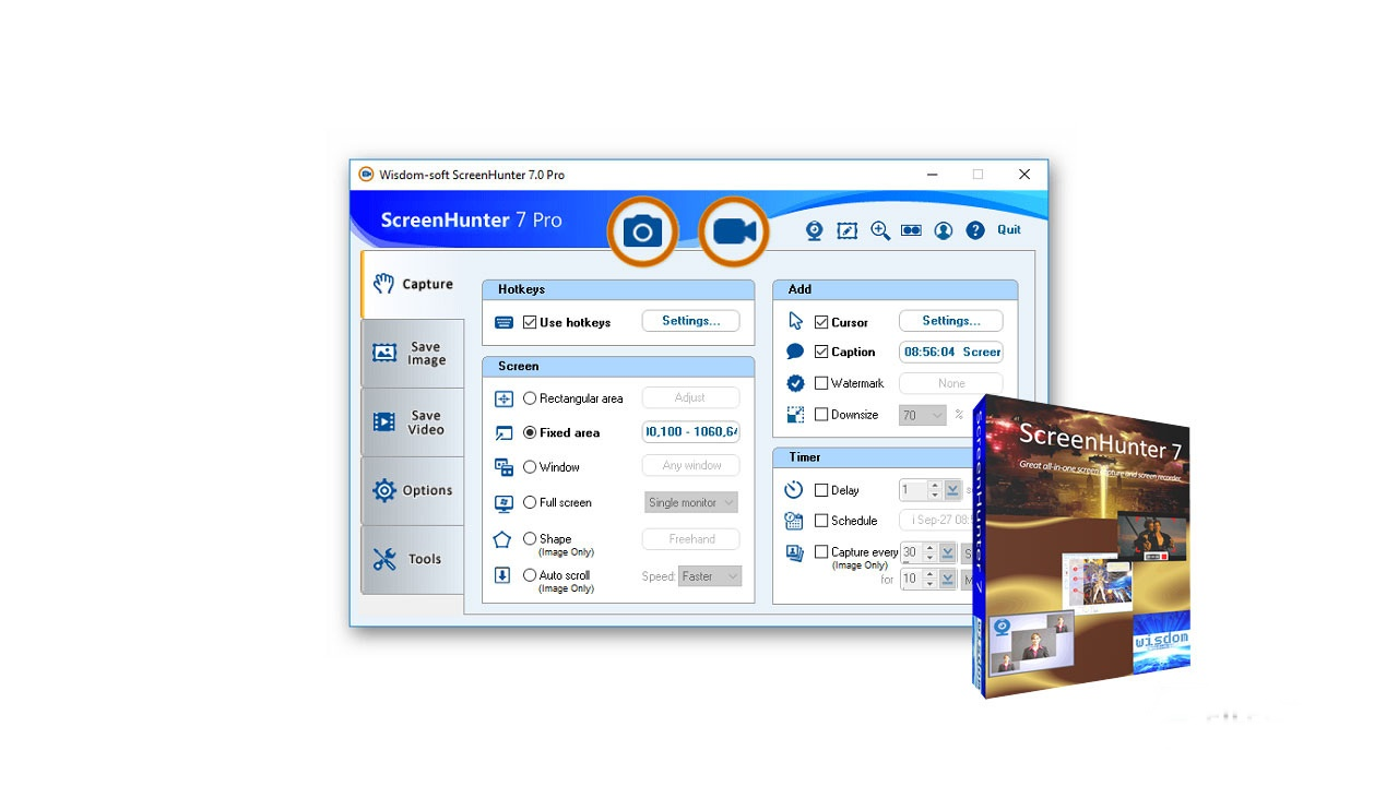 ScreenHunter Pro 7.0.1055 + Portable [Latest]