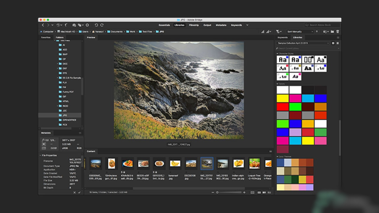Free Download Adobe Bridge CC 2020 v10 Pre-activated Offline Installer for Windows PC