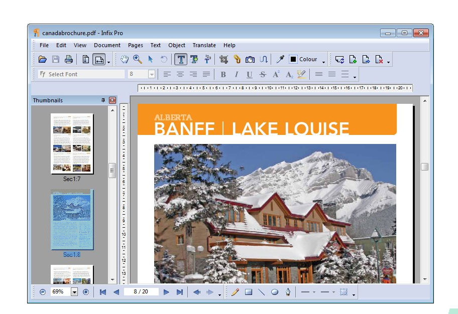 Free Download Iceni Technology Infix PDF Editor Pro 7.5.0 Full Version