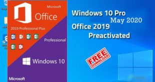 Windows 10 Pro with Office 2019 May 2020 Free Download
