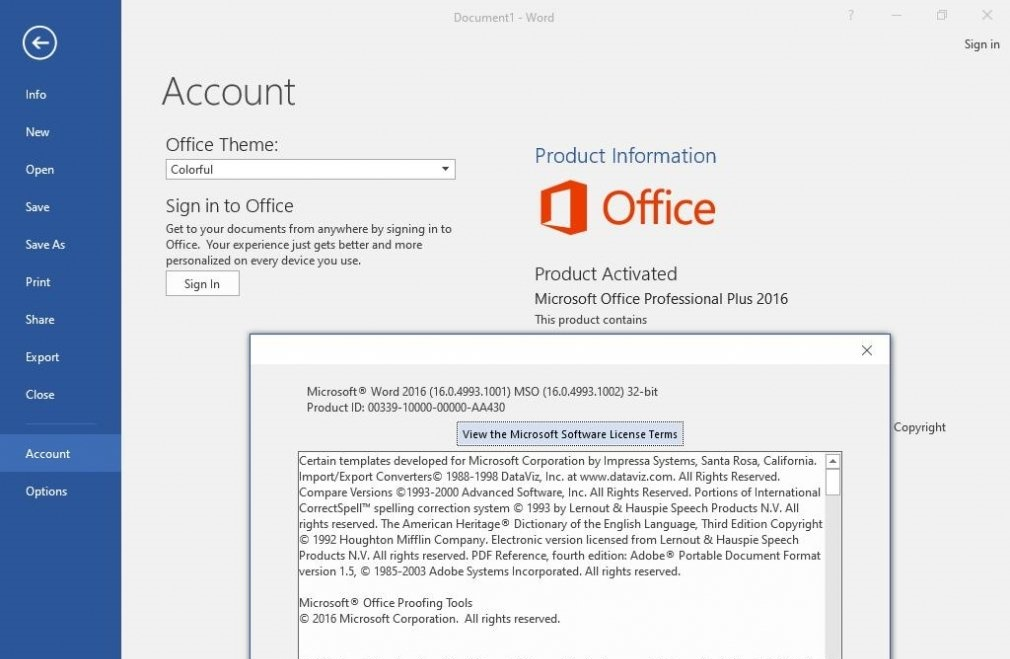 Office 2016 Professional Plus 32 & 64 Bit ISO Download