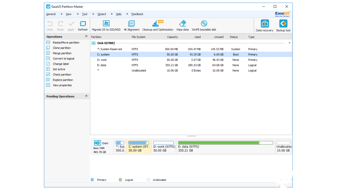 Free Download EaseUS Partition Master 14.0 + WinPE ISO Editions