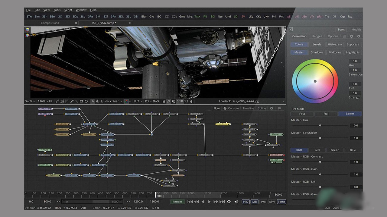 Free Download Blackmagic Design Fusion Studio 16.2.1 Build 6 Full Version
