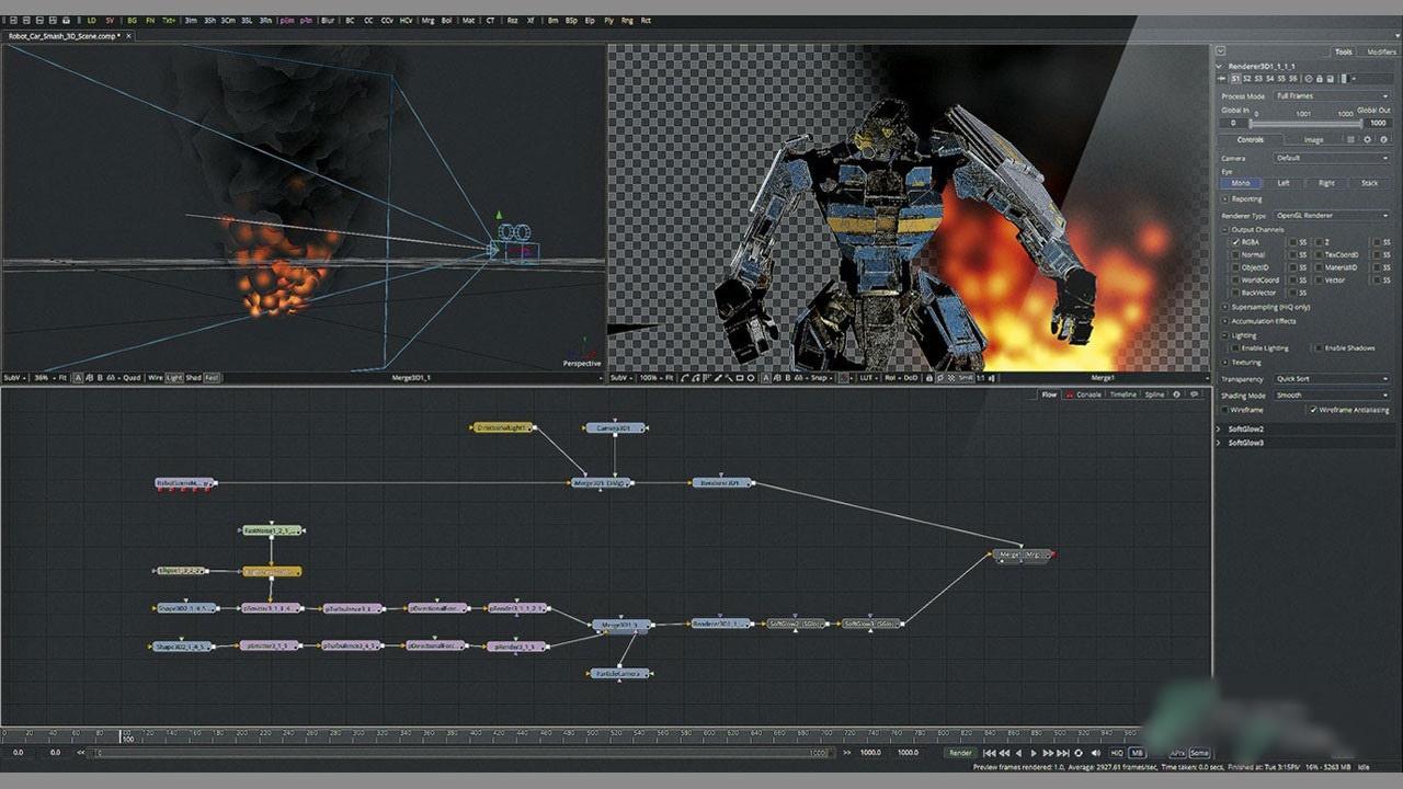 Free Download Blackmagic Design Fusion Studio 16.2.1 Build 6 Full Version