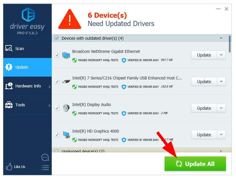 Free Download Driver Easy Professional 5.6.15.34863 Full Version