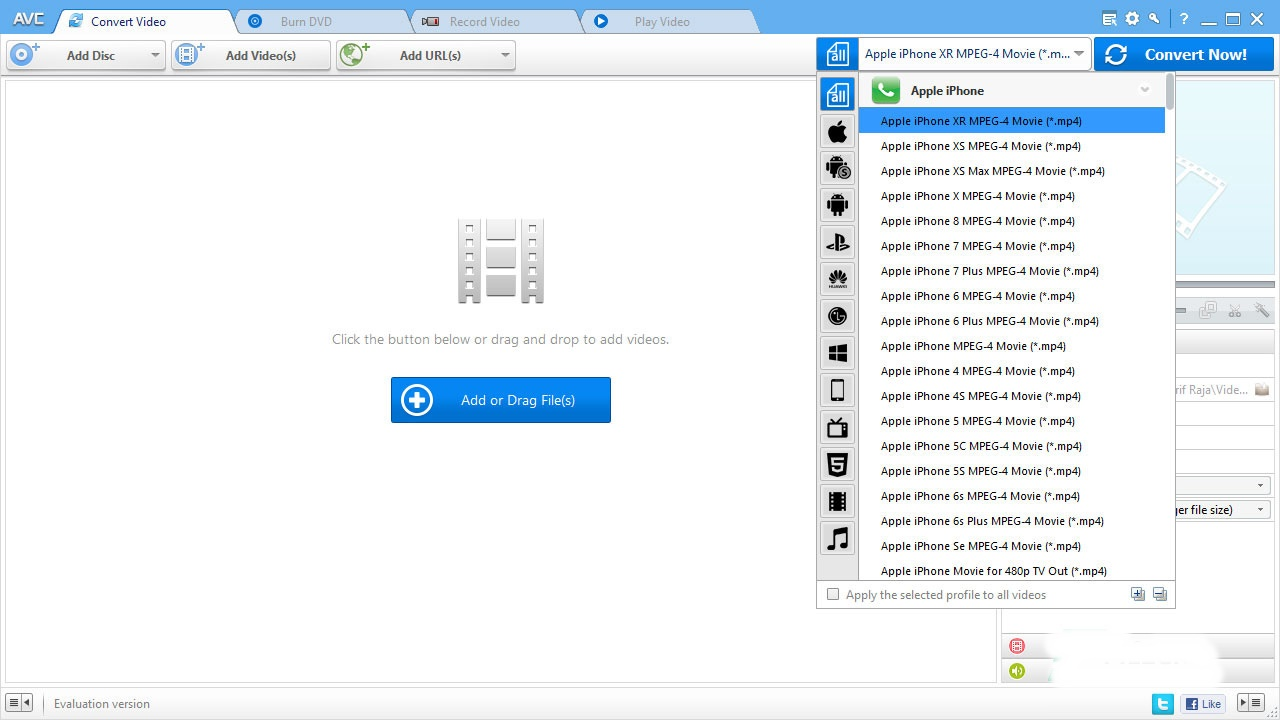 Free Download Any Video Converter 7.0.2 Professional / Ultimate Full Version